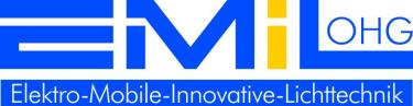Logo E-M-I-L OHG Elektro-Mobile-Innovative-Lichttechnik